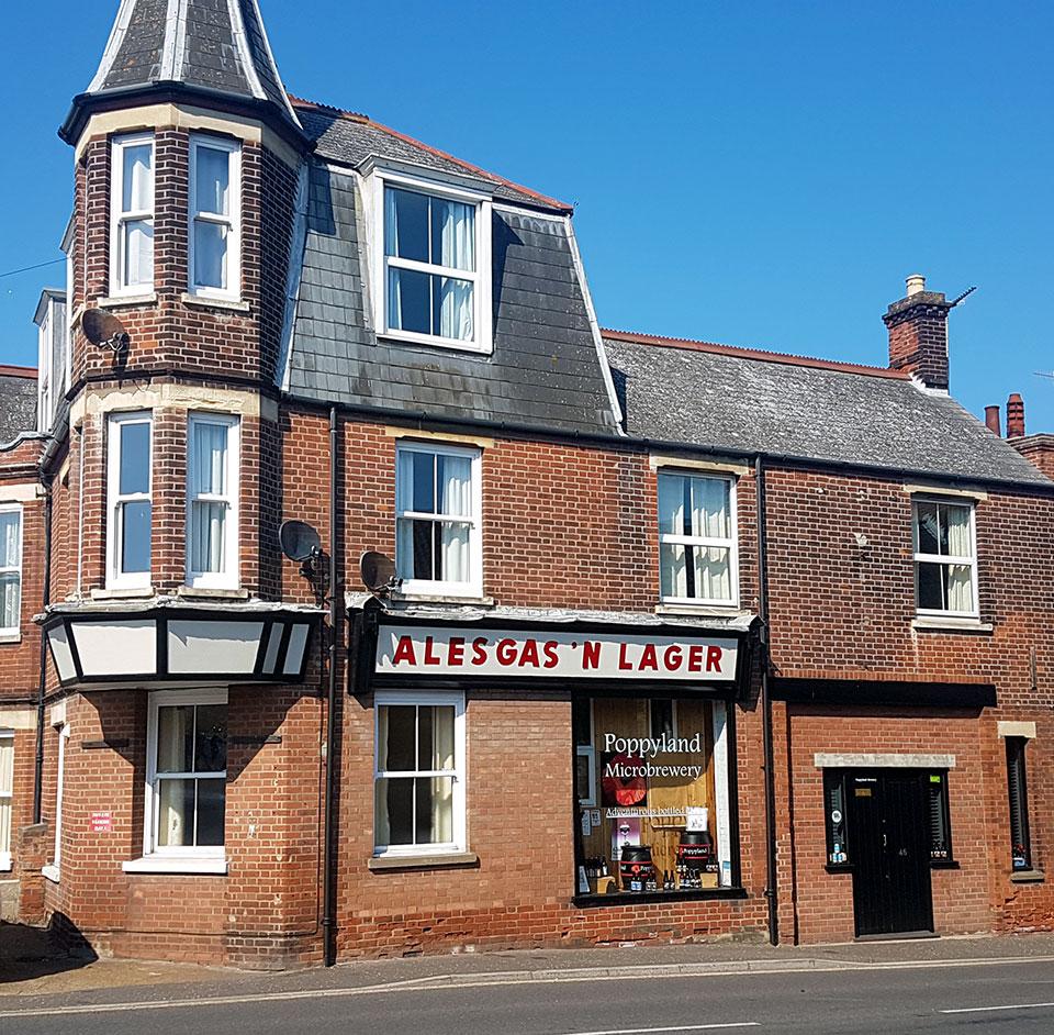 Poppyland Brewery, Cromer, Norfolk